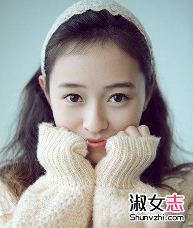 年度最美刘海发型显精致五官图片