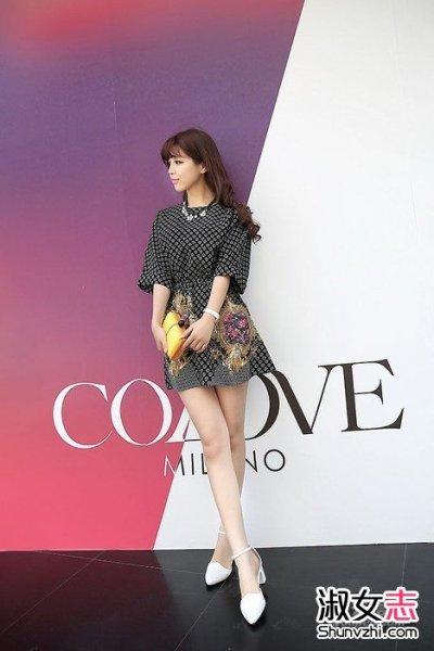 韩式女生优雅街头穿衣打扮