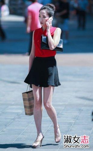 夏季街拍 夏季街拍美女 韩国女星夏季街拍