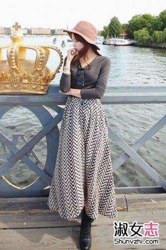 2014初冬穿衣搭配 韩国女生打扮引人注目-最新韩国女生搭配 关于韩国图片