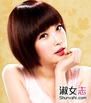 韩式短发发型小清新气质(6)