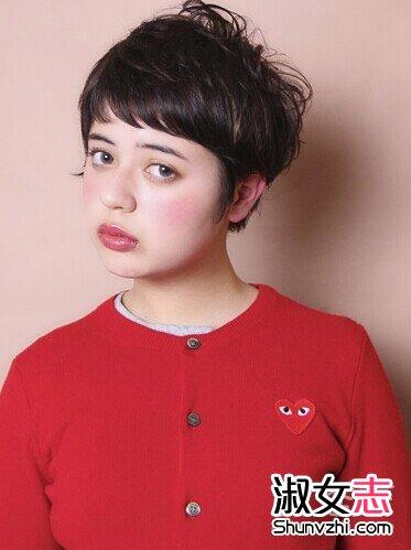 2015春夏日系可爱女生短发发型(7)