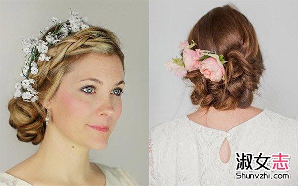 五月结婚季 好看的新娘盘发造型设计