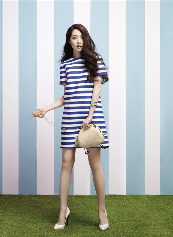 郭碧婷最新时尚写真大片 彰显不张扬的仙美魅力