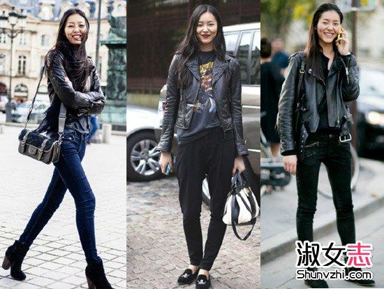 刘雯街拍生活照 刘雯示街拍图片 刘雯穿衣搭配 3图片