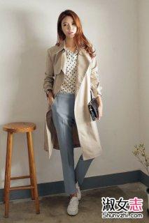 2015秋季新款风衣 韩版风格新款