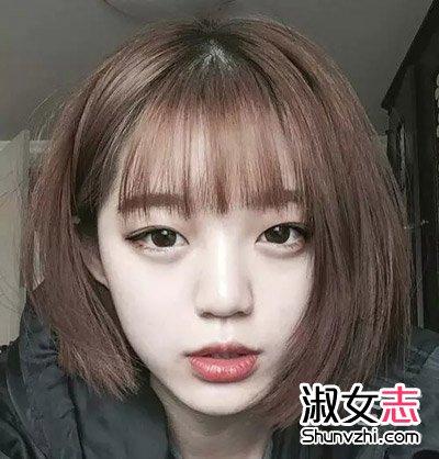 90后女生自拍性感短发发型(2)图片