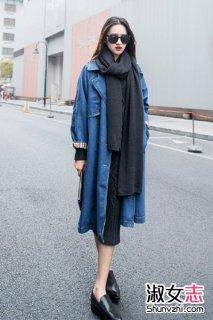 看达人MM围巾怎么搭配 围巾搭出文艺范