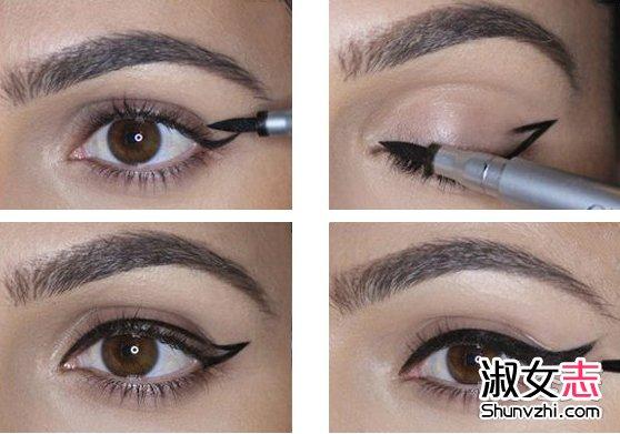 基础眼线妆 脸型 眼型和眼线画法(2)图片
