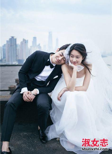 朱亚文婚礼_沈佳妮朱亚文婚礼结婚照个人资料家庭背景_淑女志