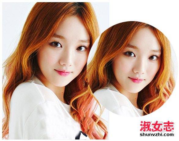 美女最爱显瘦中分发型图片 秒变瓜子脸 显脸瘦的发型