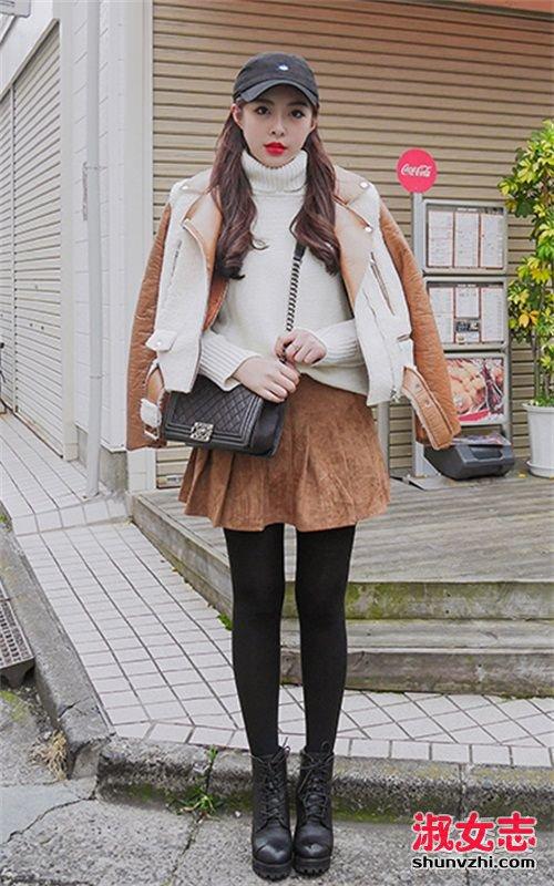 冬天穿什么外套保暖 选皮毛一体大衣 皮毛一体外套搭配