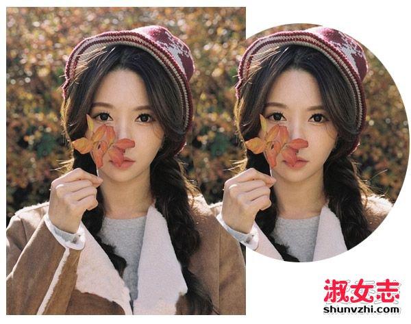中分与外翻的长刘海烘托出知性的文艺美感,双麻花辫编发很适合图片