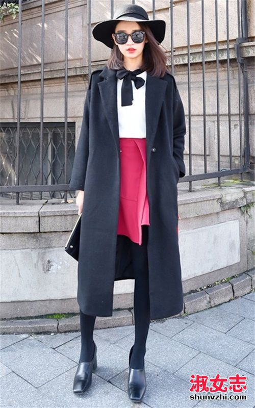 冬天穿裙子配什么外套 大衣最优雅 冬天穿裙子怎么搭配