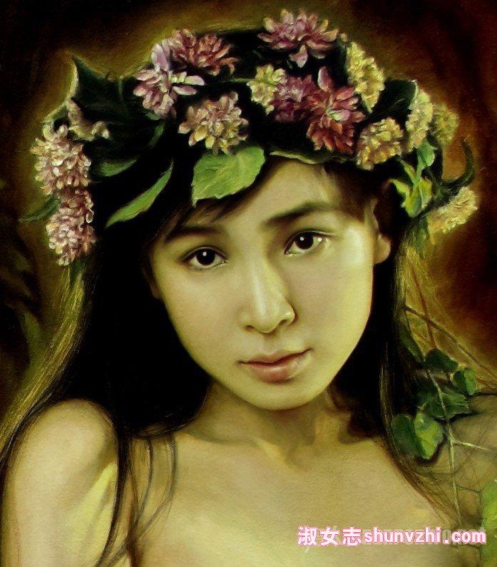画家李壮平觉得李勤气质符合女神