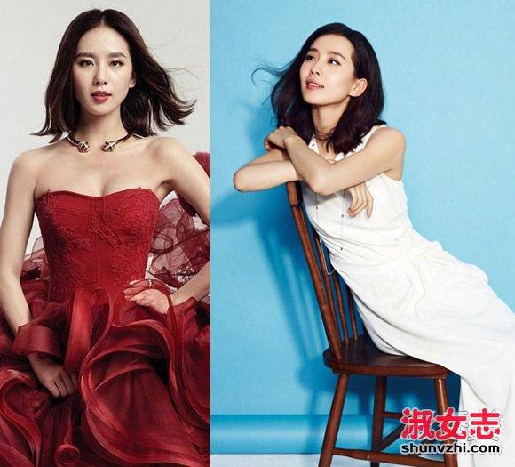 刘诗诗新娘发型图片 看2016流行的新娘发型