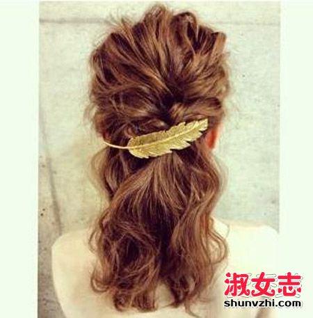 春天头发怎么扎好看 简单发型手残也学得会 怎么扎头发图片