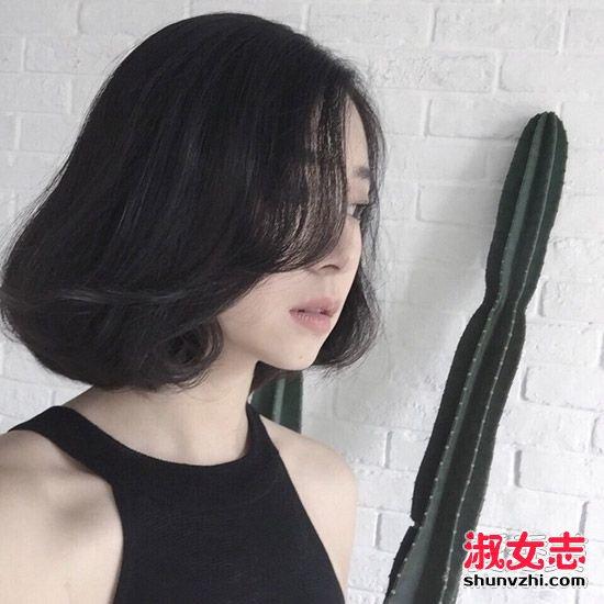 最美不过短烫发 10款流行短发造型任你选 短发烫发发型图片
