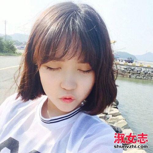 网红最爱的空气感刘海发型盘点