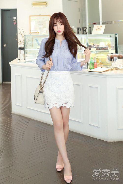 白色裙子怎么搭配_春季白色裙子怎么搭配 配什么鞋和上衣(2)_淑女志