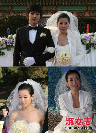 朴海镇李泰兰结婚 朴海镇老婆资料照片