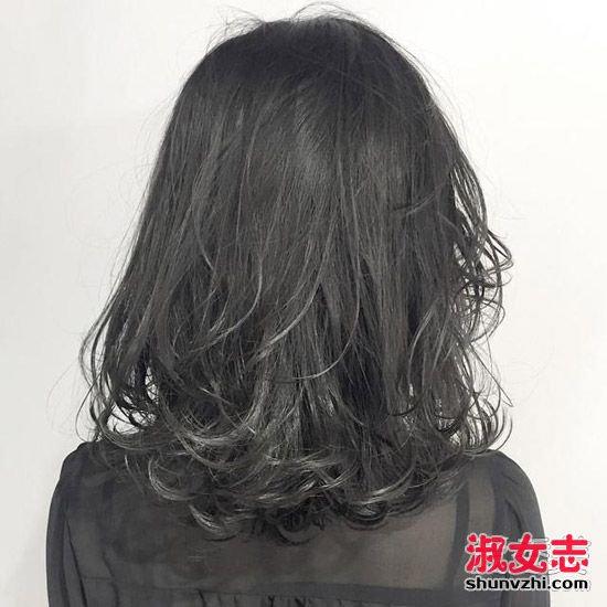 中发妹子怎么烫发好看 看看这些烫发吧(4)图片