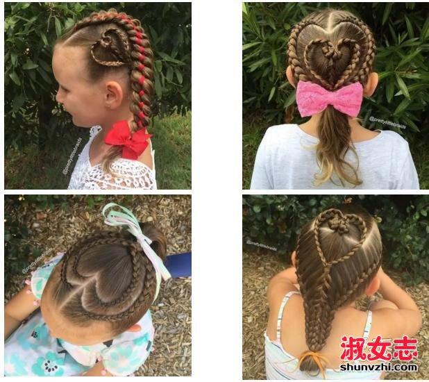 编发汇总:六一儿童节小女孩发型绑扎方法