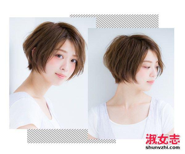 剪短发首选还是波波头 这8款清凉消暑显脸小 夏季剪什么短发