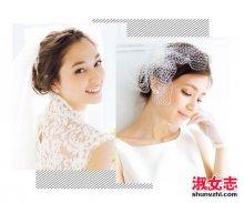 今年最新流行的新娘发型 超级的好看