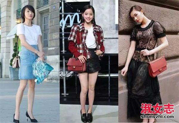 刘雯晒包有瘾  数数她最近背的包 刘雯的包包