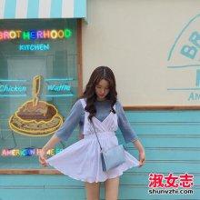 8月出去旅游怎么搭配衣服 看韩妞街拍