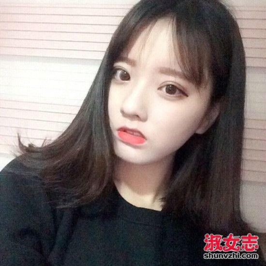 2016秋季流行的空气八字刘海(3)图片
