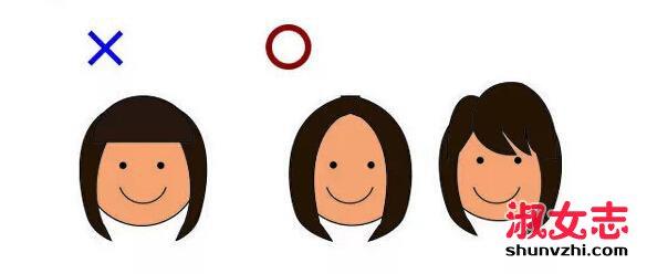 如何挑选适合自己发型?圆脸姑娘看这里就行 怎么挑选适合的发型