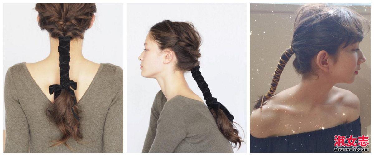 《你的名字》三叶同款绑带扎发推荐 秒变动漫女主角 你的名字三叶发型
