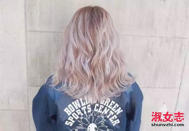2016最后两个月 给头发染个极浅发色才最时髦! 染什么颜色2016