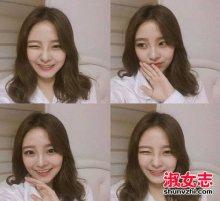 韩国女生冬季可爱发型大盘点