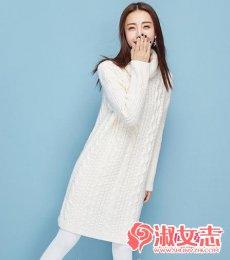 今年冬季女人高领毛衣回潮暖自己
