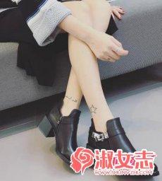 秋冬季女生好看的短靴推荐 显高显瘦
