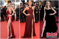 女明星走红毯性感造型大盘点 开高衩礼服