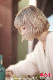 潮女冬季换短发 这样的微卷短发刚刚好