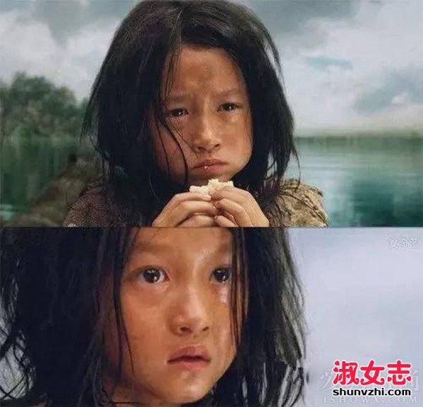 关晓彤小时候照片 关晓彤4岁出道