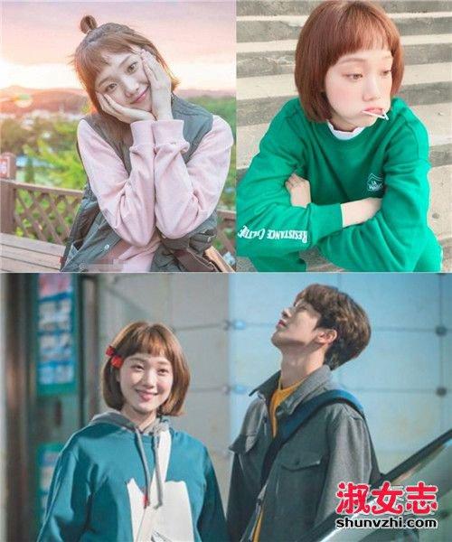 韩国女生的街拍TOP 金福珠的休闲慵懒风 明星造型