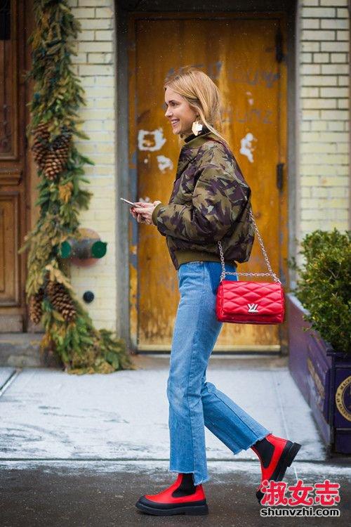 """新年""""红包""""拿来 超人气红色包包搭配 红色包包怎么搭配"""