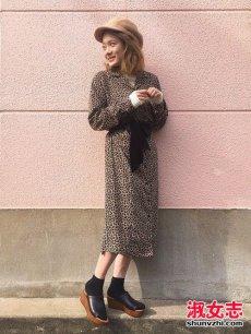 日本女孩冬季穿衣风格和显瘦攻略