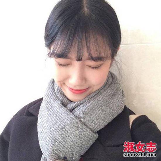 2017最新流行空气刘海发型图片 16款你宣哪个? 最新空气刘海图片