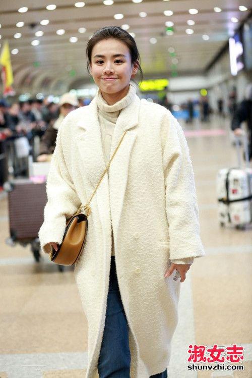 年后开工忙!华语女星最新街拍机场变秀场 明星机场街拍