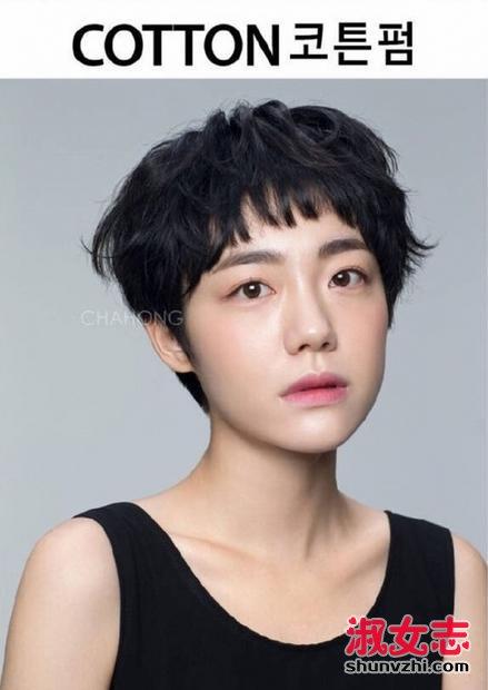 2017年韩国流行的女生短发大全