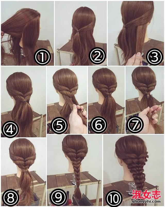 春天怎能不会编头发!9款适合日常的编发图解 怎么编头发好