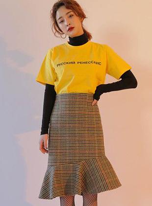 2017韩国街头流行的网袜搭配