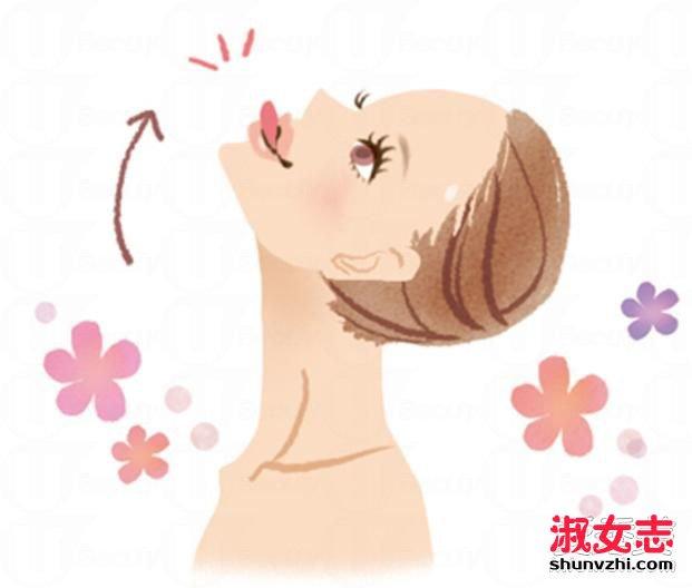 比肥肚腩更雷人的是双下巴!简单小脸运动消灭双下巴 怎么瘦脸和下巴